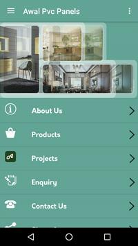 Awal Pvc Panels apk screenshot