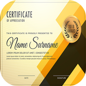 Award Certificate Maker icon
