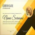 Award Certificate Maker app
