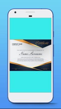 Award Certificate Maker screenshot 2