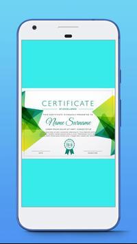 Award Certificate Maker screenshot 3