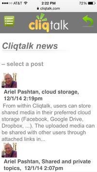Cliqtalk screenshot 2