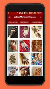 Latest Mehandi Designs screenshot 4