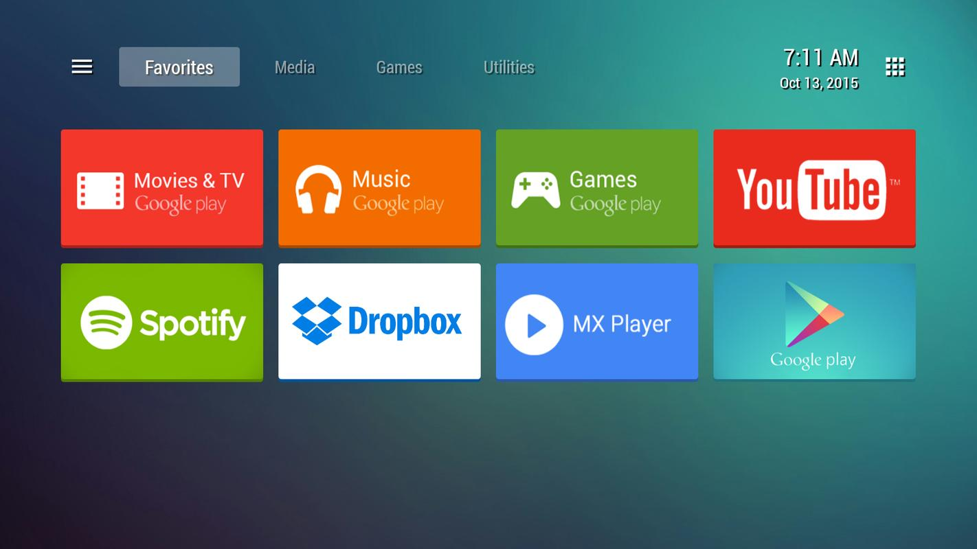 Apk 6tv: TVLauncher For Android