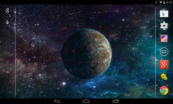 3D Planet Free Live Wallpaper Apk Screenshot