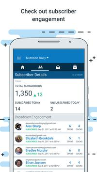AWeber Email Stats on the Go apk screenshot