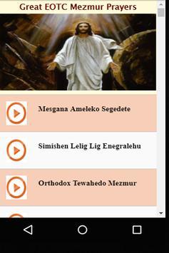 Great EOTC Mezmur Prayers poster