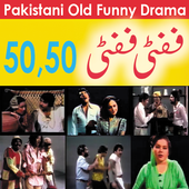 50 50 Pakistani Funny Drama icon