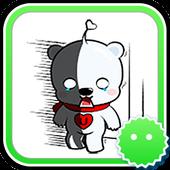 Stickey Cute Polar Bears icon
