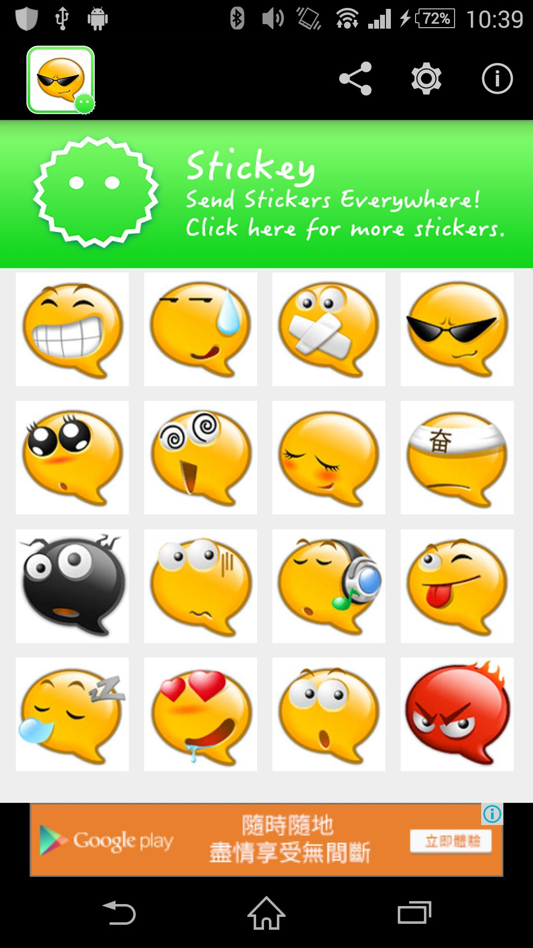 Stickey Chat Bubble Emoji for Android - APK Download