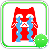 Stickey Red Cat icon