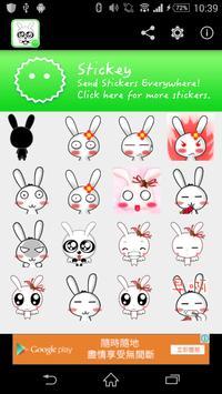 Stickey Rabbit Paradise poster
