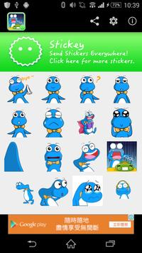 Stickey Tiny Monster poster