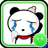 Stickey The Panda Superman icon