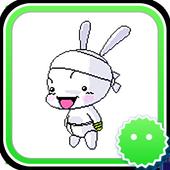 Stickey Hard-working Rabbit icon