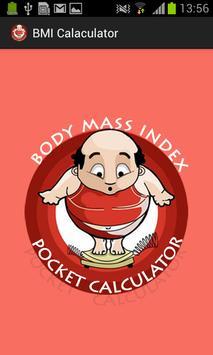 BMI Pocket Calculator poster
