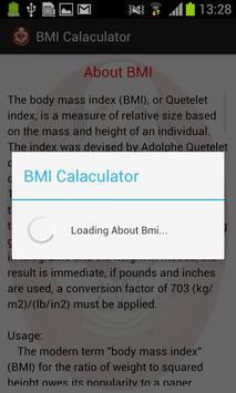 BMI Pocket Calculator screenshot 2
