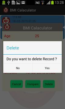 BMI Pocket Calculator screenshot 7