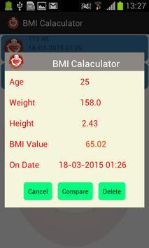 BMI Pocket Calculator screenshot 6