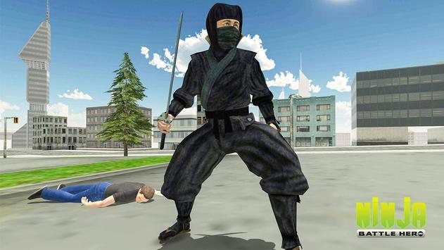 Ninja Warrior Superhero Battle poster