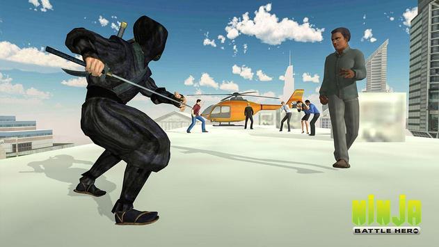Ninja Warrior Superhero Battle screenshot 10