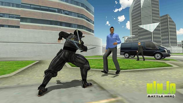 Ninja Warrior Superhero Battle screenshot 3