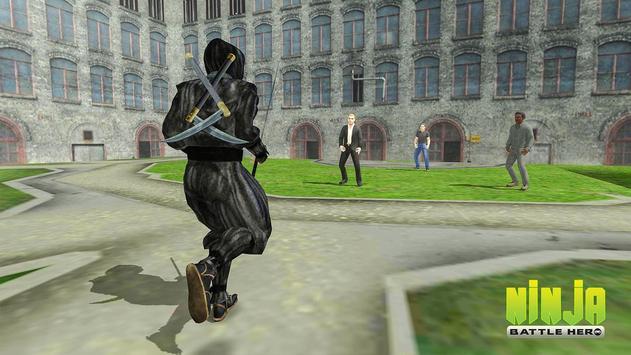 Ninja Warrior Superhero Battle screenshot 5