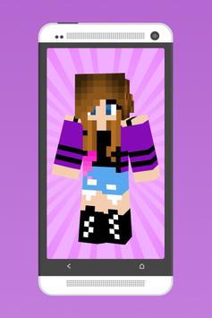 Awesome Girl Skins for MC poster