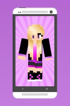 Awesome Girl Skins for MC screenshot 1