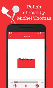 Polish - Michel Thomas method, audio course apk screenshot