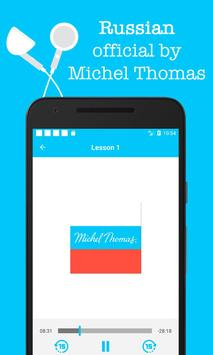 Russian - Michel Thomas method, audio course poster