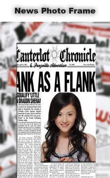 News Photo Frame poster
