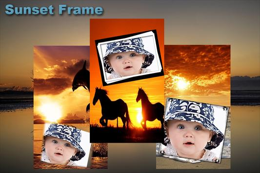 Sunset Photo Frame apk screenshot