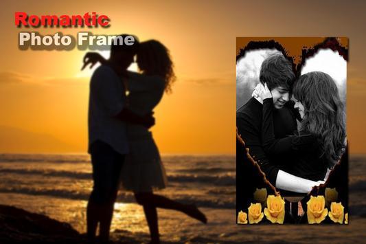 Romantic Photo Frame screenshot 4