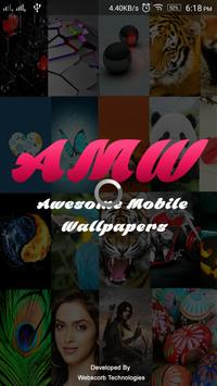 Awesome Mobile Wallpapers apk screenshot