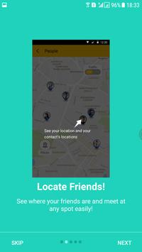 Mappy - Track friends & Places apk screenshot