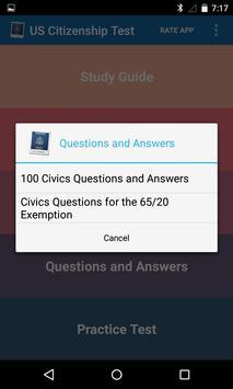 USCIS Ciudadanía de US Repaso captura de pantalla 2