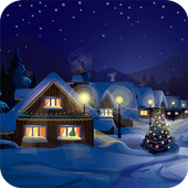 Winter Christmas Wallpaper icon