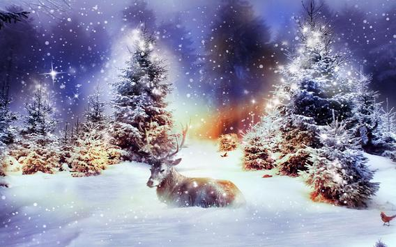 Winter Christmas Wallpaper apk screenshot