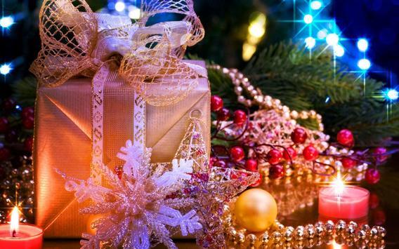 Christmas Lights Wallpaper Poster Apk Screenshot