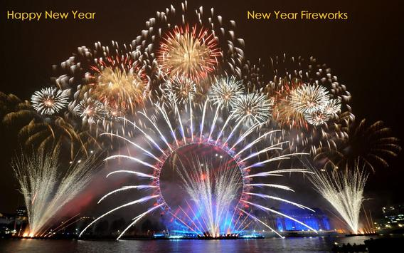 New Year Fireworks Wallpaper apk screenshot