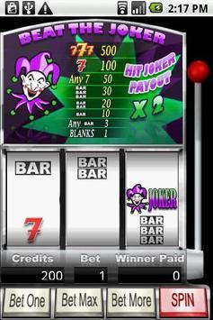 Beat The Joker Slots poster