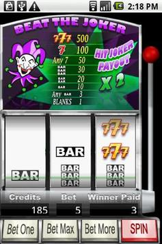 Beat The Joker Slots apk screenshot