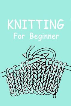 Knitting Guide App poster