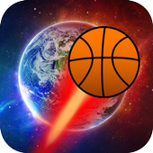 Space Basketball icon