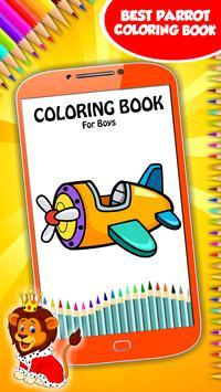Coloring Book For Boys poster