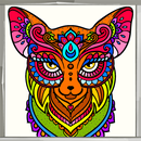 Animal Mandala Coloring Book APK