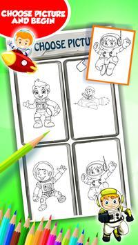 Buku Mewarnai Astronot For Android Apk Download