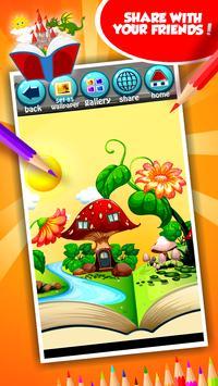 Fairytale Coloring Book screenshot 14