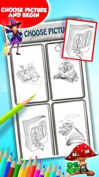 Fairytale Coloring Book screenshot 2